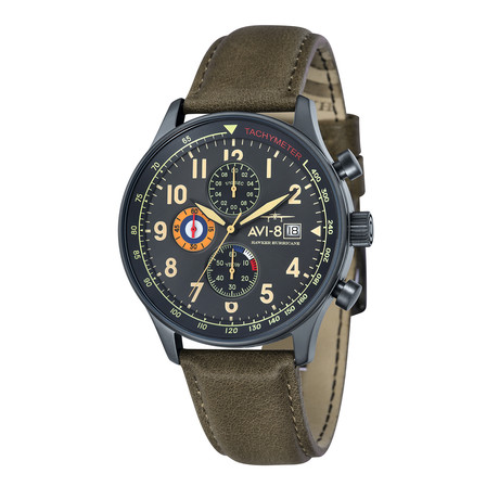 Avi-8 Hawker Hurricane Quartz Chronograph // AV-4011-0E