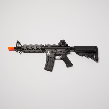Colt M4 CQB AEG Full Metal Blowback + 5000 BBs