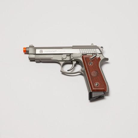 Taurus PT92 Full Metal Blowback Pistol + 2000 BBs + 5 Pack CO2