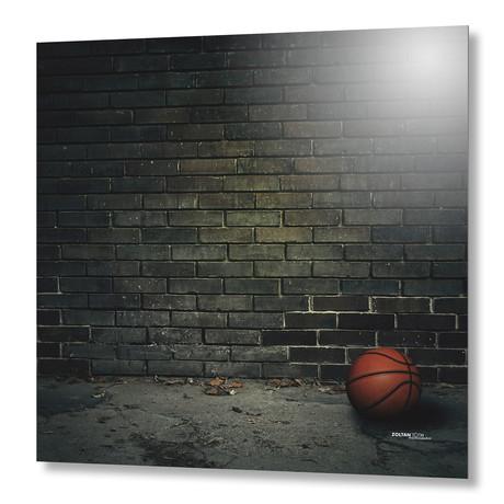 Basketball // Aluminum Print