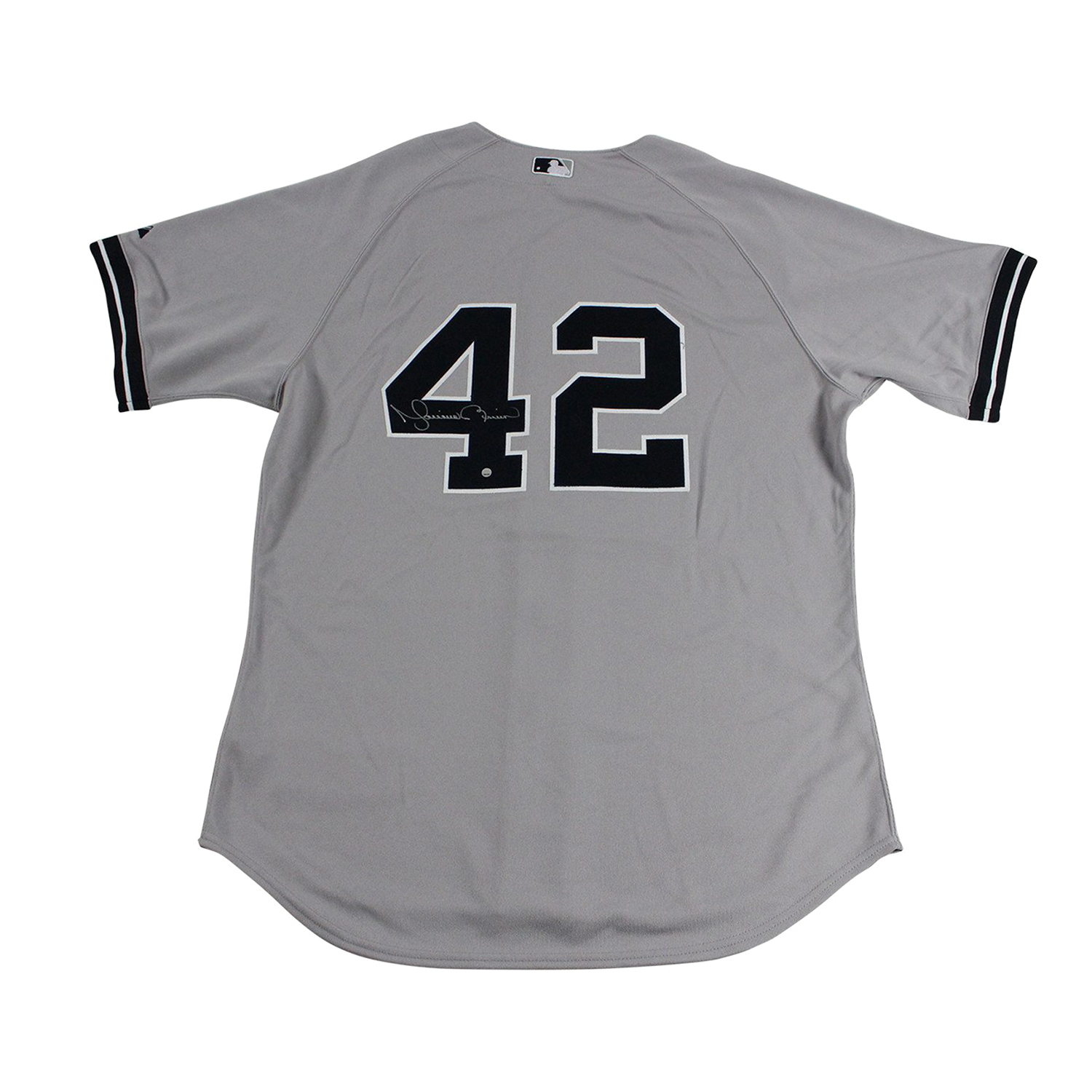 competitive price 6c550 3ee60 Signed Authentic Yankees Away Jersey // Mariano Rivera ...