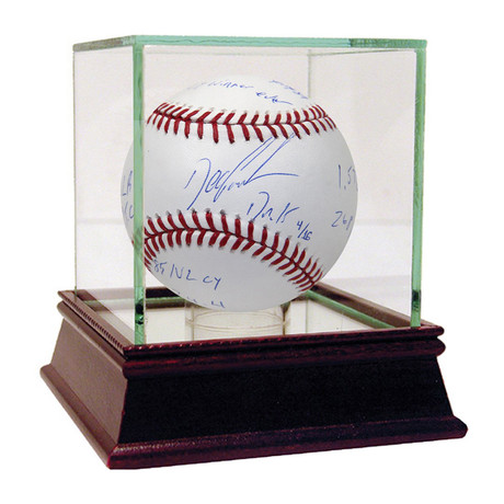 Signed MLB Baseball // Dwight Gooden