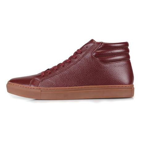 SWJ 5 Mid-Tip Sneaker // Burgundy (US: 7)