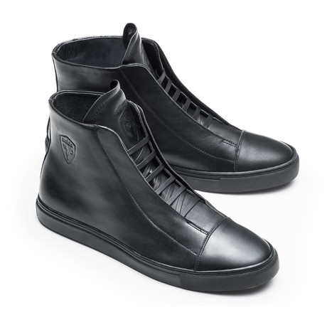 Sullywong + Nobis Collaborative High-Top Sneaker // Black (US: 7)