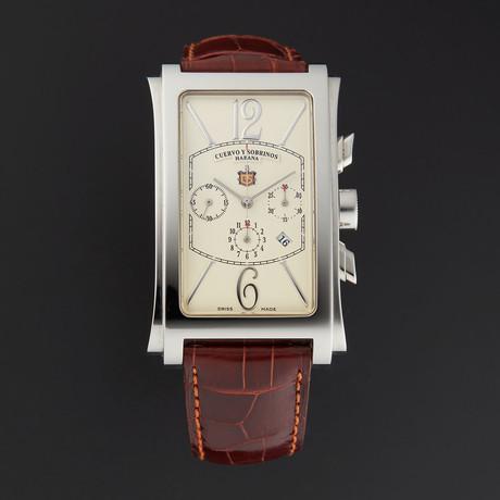 Cuervo y Sobrinos Prominente Chronograph Automatic // C1014.1C // Store Display