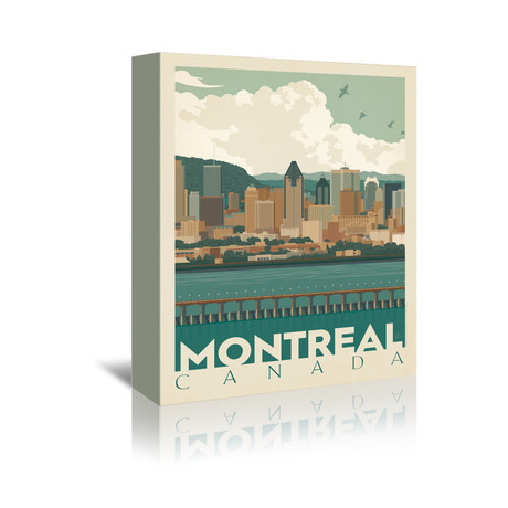 """Montreal, Canada (7""""W x 5""""H x 1""""D)"""