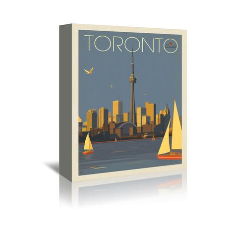 """Toronto, Canada (7""""W x 5""""H x 1""""D)"""