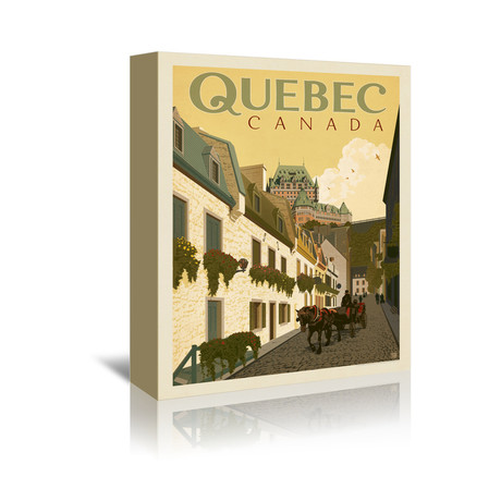 "Quebec, Canada (5""W x 7""H x 1""D)"