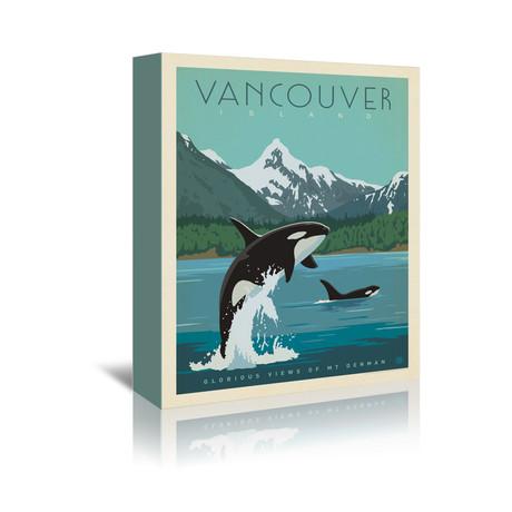 """Vancouver, Canada // Orcas (7""""W x 5""""H x 1""""D)"""