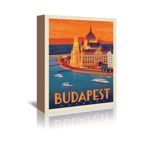 "Budapest, Hungary (5""W x 7""H x 1""D)"