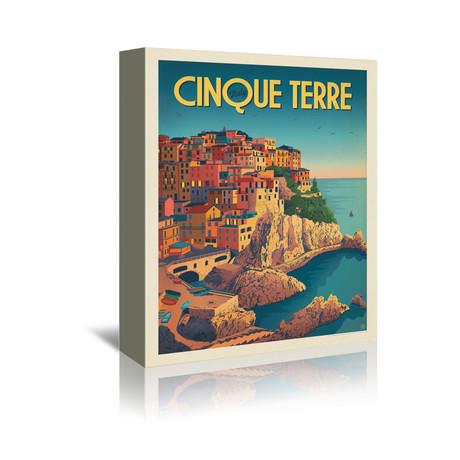 """Cinque Terre, Italy (7""""W x 5""""H x 1""""D)"""