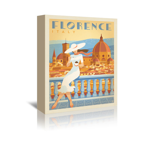 """Florence, Italy II (7""""W x 5""""H x 1""""D)"""