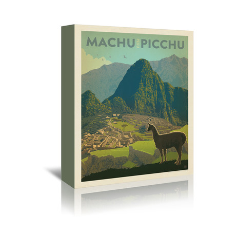 """Machu Picchu, Peru (5""""W x 7""""H x 1""""D)"""