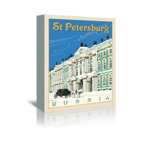 """St. Petersburg // Russia (5""""W x 7""""H x 1""""D)"""