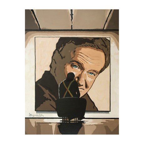 Robin Williams // Exclusive Autographed Print