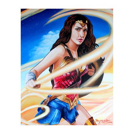 Wonder Woman // Exclusive Autographed Print