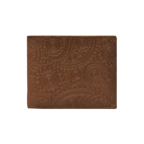 Faulkner Bi-Fold Wallet // Brown