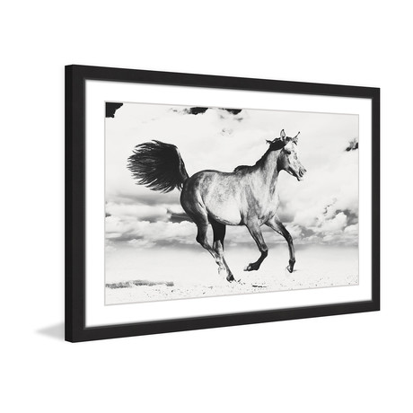 Race Against Time Framed Painting Print