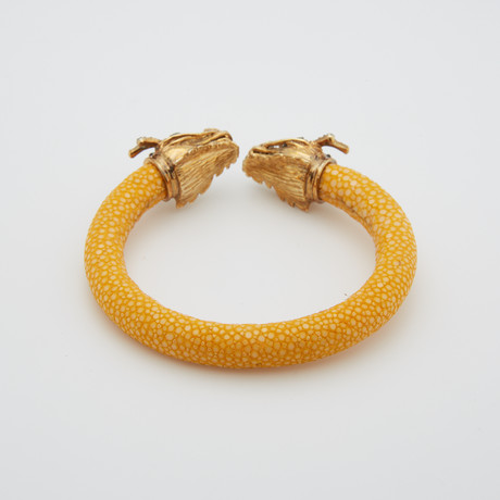 Veles Draco // Yellow Gold + Yellow