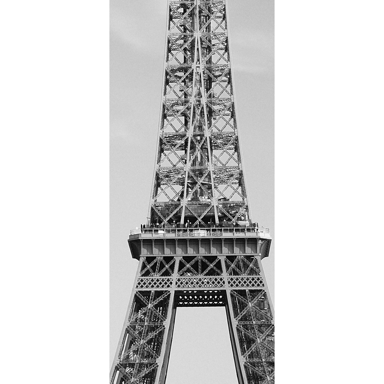 Eiffel tower door mural walplus touch of modern for Eiffel tower wall mural ikea
