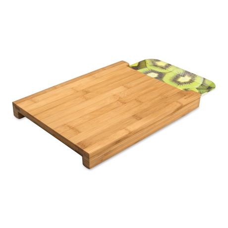 Bamboo Chopping Board + Tray