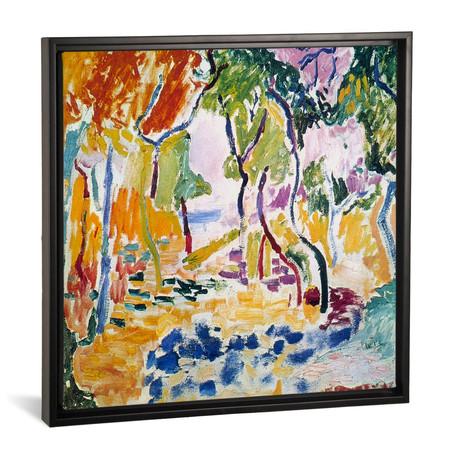 "Landscape near Collioure // Henri Matisse // 1905 (18""W x 18""H x 0.75""D)"