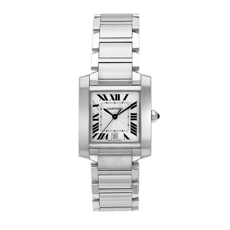 Cartier Tank Automatic // W51002Q3 // Store Display