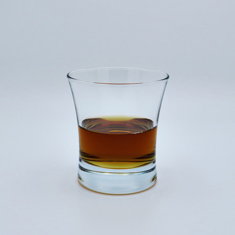 Whiskey Glasses // Curved // Set of 6