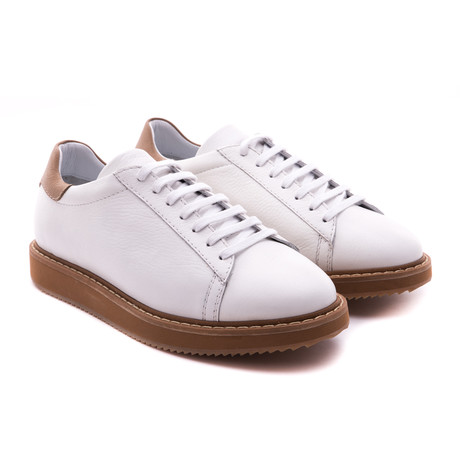 Damat Low-Top Casual Sneakers // White (Euro: 39)