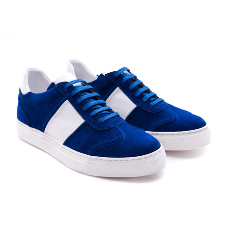 Damat Low-Top Casual Sneaker // Blue + White (Euro: 39)