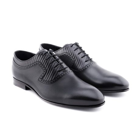 Damat Antique Textured Oxford // Charcoal (Euro: 39)