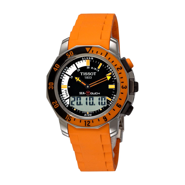 tissot sea touch quartz t026 420 17 281 02 tissot touch of modern rh touchofmodern com tissot sea touch instruction manual Tissot 1853 Touch Watch
