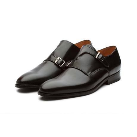 Bristol Leather Monkstrap // Black
