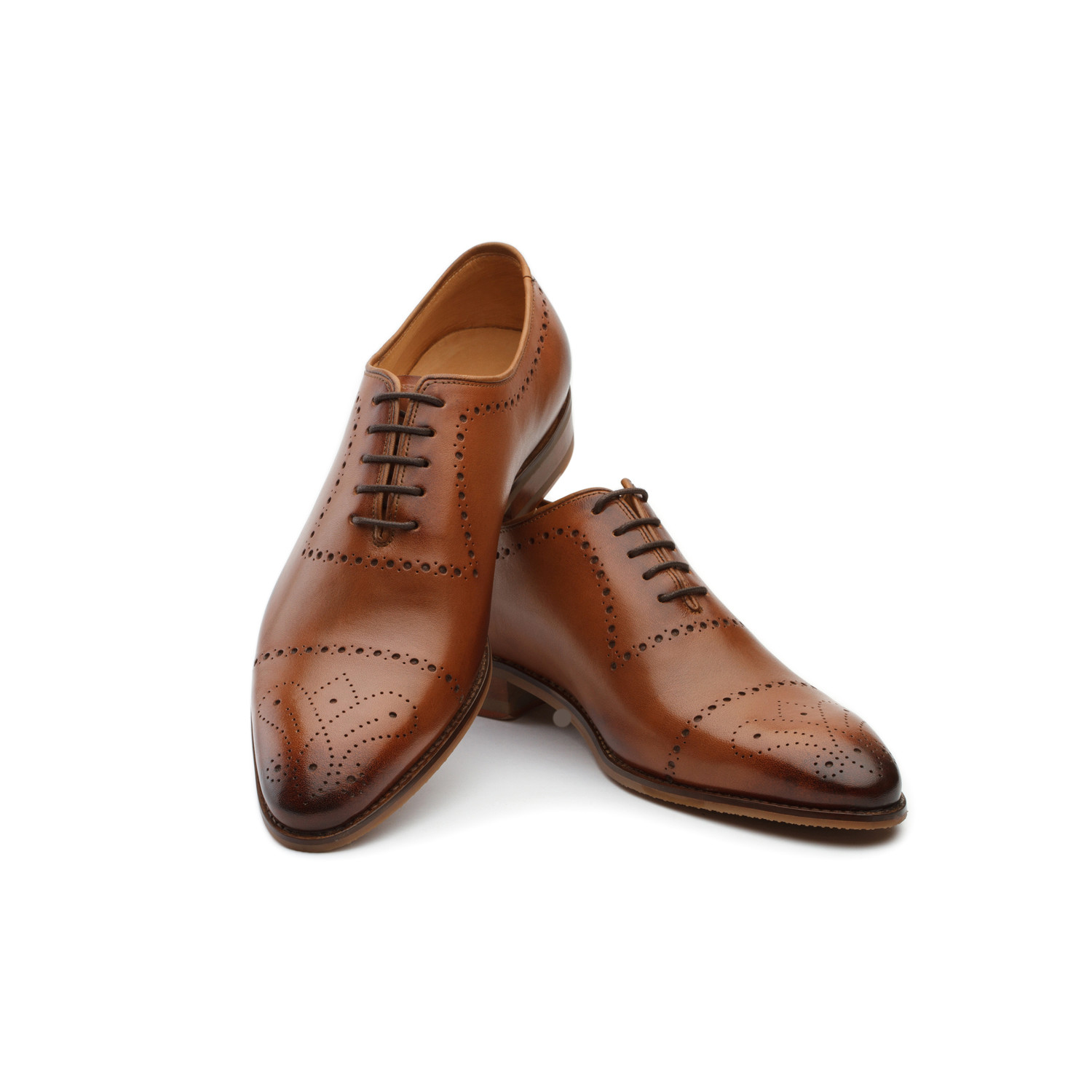 how to clean tan leather shoes