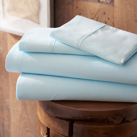 Urban Loft™ Premium Ultra Soft Bed Sheets // 4 Piece Set // Aqua (Twin)