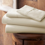 Urban Loft™ Premium Ultra Soft Bed Sheets // 4 Piece Set // Cream (Twin)