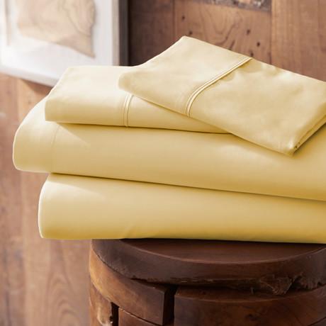 Urban Loft™ Premium Ultra Soft Bed Sheets // 4 Piece Set // Gold