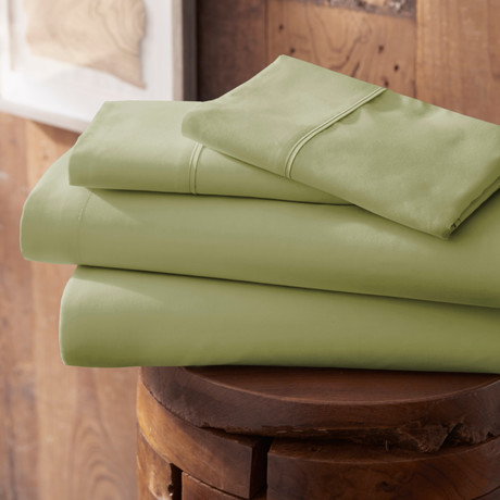 Urban Loft™ Premium Ultra Soft Bed Sheets // 4 Piece Set // Sage (Twin)
