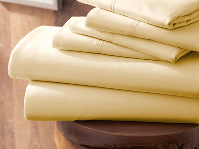 """Photo of iEnjoy Luxurious Microfiber Bedding Urban Loftâ""""¢ Premium Ultra Soft Bed Sheets // 6 Piece Set // Gold (Twin) by Touch Of Modern"""
