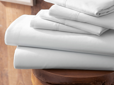 """Photo of iEnjoy Luxurious Microfiber Bedding Urban Loftâ""""¢ Premium Ultra Soft Bed Sheets // 6 Piece Set // White (Twin) by Touch Of Modern"""