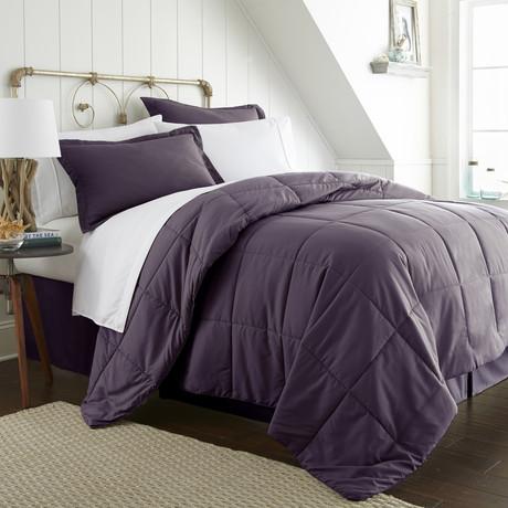 Urban Loft™ Premium Bed In A Bag // 8 Piece Set // Purple