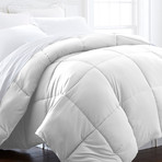 Urban Loft™ Premium Bed In A Bag // 8 Piece Set // White (Twin)