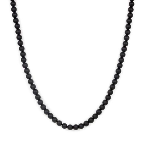 Washington Necklace // Black