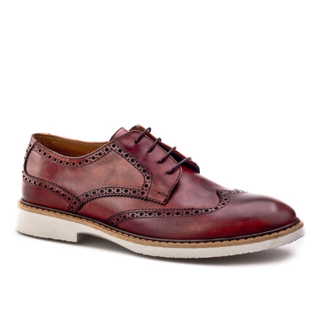 Taba Wing-Tip Derby // Light Brown