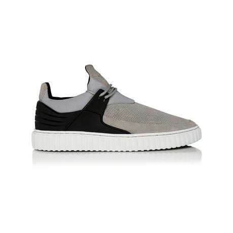 Castucci Low-Top Sneaker // Vapor + Charcoal