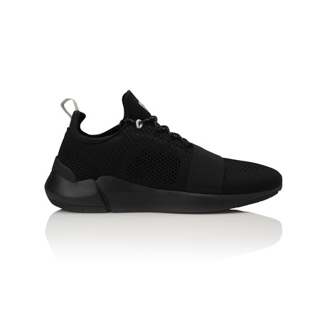 Ceroni Low-Top Sneaker // Black + Reflective