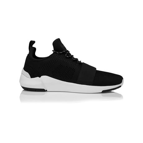 Ceroni Low-Top Sneaker // Black + White