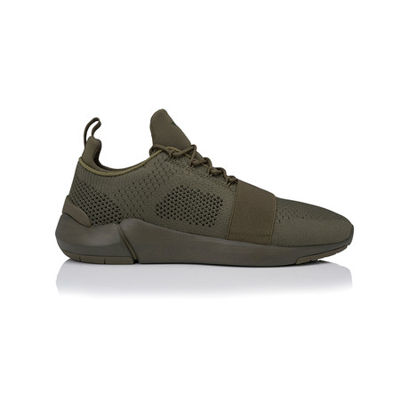 Ceroni Low-Top Sneaker // Military