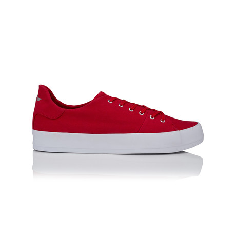 Carda Canvas Low-Top Sneaker // Red
