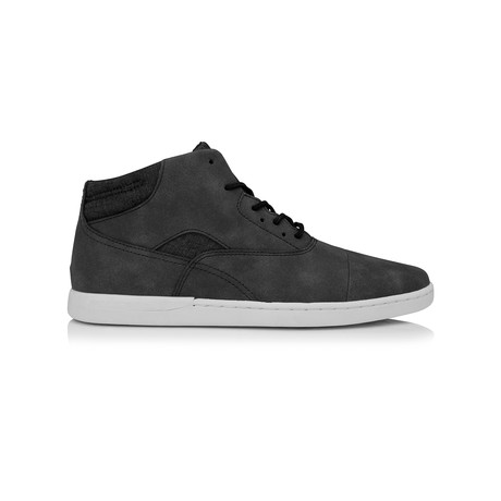 Masella Mid-Top Sneaker // Washed Black